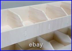 Mercedes Vito LWB Van Racking XL Double Unit Tool Storage Shelving