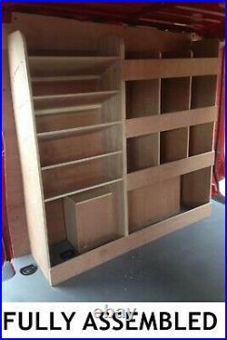 Mercedes Vito Van Shelving Racking XLWB Plywood System Case Storage Unit