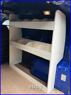 Peugeot Bipper Van Racking Tool Storage & Organiser Shelving System OS Front