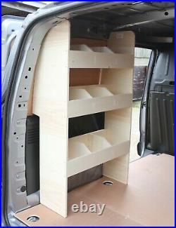 Peugeot Partner SWB 2019+ Van Racking Tool Storage Shelving NS Rear