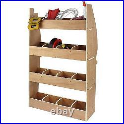 Peugeot Partner SWB Van Racking Plywood Tool Storage Rack Ply Shelving Workshop
