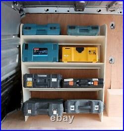 Renault Trafic Traffic 2015+ Toolbox Storage Van Racking Shelving OS Front