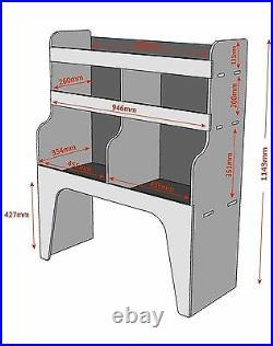 Renault Trafic / Traffic Van Racking Shelving Plywood Storage WRK9.7