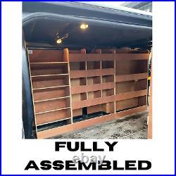 Renault Trafic Van Shelving Racking SWB Plywood System Case Storage Unit Traffic