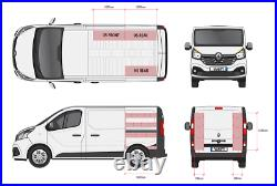 Renault Trafic traffic SWB 2015+ Double Van Racking & Toolbox Storage Shelving
