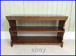 Shoe Bench and Rack Hallway Storage Shelf Shelving Hand Crafted in Solid Pine