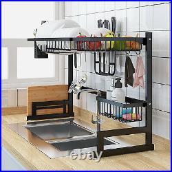 Steel Kitchen Dish Rack Kitchen Sink Drain rack Storage Shelf Home ganizer Racks