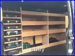 TRANSIT VAN RACKING 2014 MWB LWB Storage Accessories Plywood Shelving
