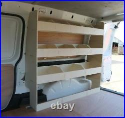 VW Caddy Maxi Van Racking Tool Storage Shelving Driver Side Rear