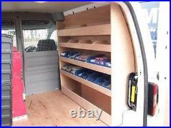 VW Caddy SWB BINRACK Plywood Shelving Storage Racking accessories