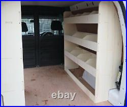 VW Caddy SWB Extra Large Double Units Van Racking Shelving Tool Storage