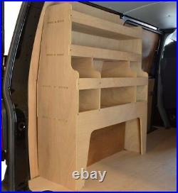 VW T5 & T6 Transporter Shelving Plywood Racking Tool Storage Unit WR35