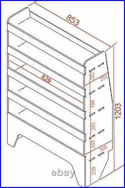 VW T5 & T6 Transporter VAN SHELVING Racking Tool Storage Package WRK37.39