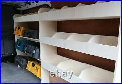 VW Transporter T5 T6 SWB Van Racking Toolbox & Standard Shelving XL Tool Storage