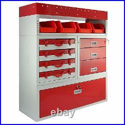 Van Rack Units Metal Tool Storage Shelving & Vehicle Racking Drawers Organiser