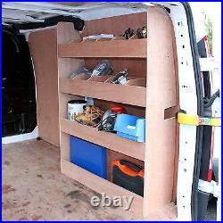 Van Racking Ford Transit Custom SWB Plywood Tool Storage Rack Ply Shelving Unit