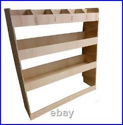 Van Racking, Ford Transit Custom SWB Plywood Tool Storage Rack Ply Shelving Unit