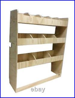 Van Racking Ford Transit Custom SWB Plywood Tool Storage Rack, Ply Shelving Unit