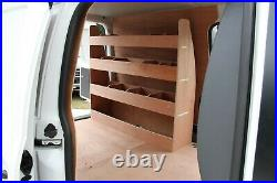 Van Racking Plywood Shelving Unit Tool Storage Van Shelves Ply Rack VW Caddy SWB