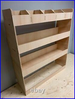 Van Racking SWB Vauxhall Vivaro Plywood Tool Storage Ply Rack Shelving Unit