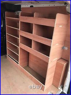 Vauxhall Combo Van Shelving Racking Plywood System Case Storage Unit