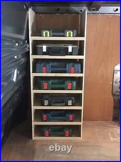 Vauxhall Vivaro 02-18 Models O/S Front Toolbox Storage Van Racking Ply Shelving