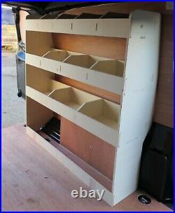 Vauxhall Vivaro 2019+ LWB L2 Van Racking Shelving Tool Storage Organiser NS Rear