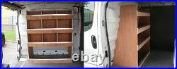 Vauxhall Vivaro Bulkhead Van Shelving Racking Plywood System Tool Storage Unit