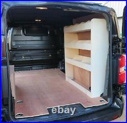 Vauxhall Vivaro LWB 2019+ Van Racking Shelving Tool Storage Organiser OS Rear
