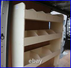 Vauxhall Vivaro SWB 2015-19 Van Racking Tool Storage Organiser Shelving NS Rear