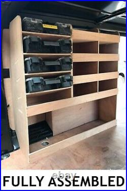 Vauxhall Vivaro Van Shelving Racking L2 LWB Plywood System Case Storage Unit