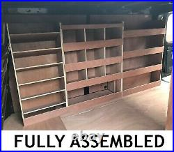 Vauxhall Vivaro Van Shelving Racking LWB Plywood System Case Storage Unit