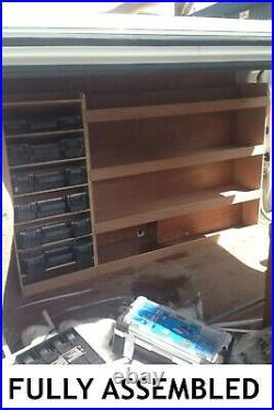 Vauxhall Vivaro Van Shelving Racking SWB L1 Plywood System Tool Storage Unit