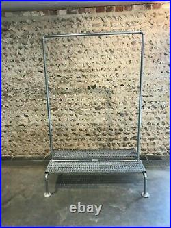 Vintage Industrial Heavy Duty Steel pipe Clothes Rail Rack Wardrobe Stand