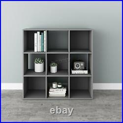 WestWood Bookshelf 3 Tier 9 Cube Bookcase Storage Display PB Shelving Rack Unit
